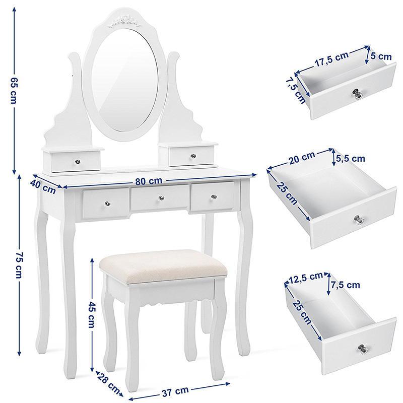 Toaletka Elizabeth Charlotte